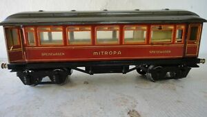 Marklin Mitropa Speisewagen 1888 Sp Gauge 1 passenger cars Antique