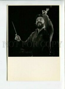 3042039 Ricardo Chailly Famous Conductor Old PHOTO