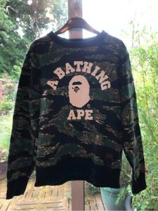 Bape Camo Sweatshirt