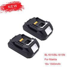 BL1815 BL1815N 18V X2 1.5Ah 1500mAh Makita Batterie BL1830 BL1840B BL1850 BL1860