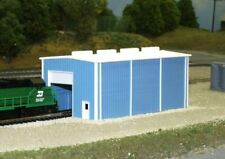 N Scale - Small Enginehouse (Door on Both Ends) - Kit - Pikestuff 541-8002 Lot 1
