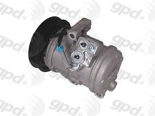 Global Parts Distributors 6512517 New Compressor And Clutch