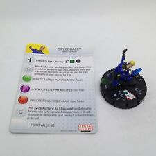 Heroclix Fear Itself set Speedball #010 Uncommon figure w/card!