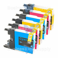 6 COLOR LC71 LC75 Compatible Ink Cartirdge for BROTHER Printer MFC-J435W LC75