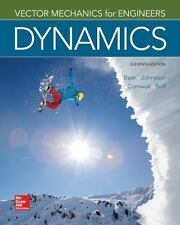 Vector Mechanics for Engineers: Dynamics (In SI Units) 11th Int'l Edition