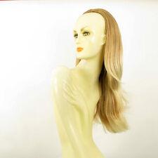 Demi-tête, demi-perruque 62cm blond clair cuivré blond clair ref 013 en 27t613