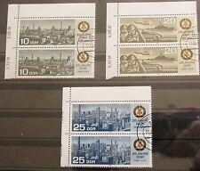 DDR Briefmarken 1984 Komplettsatz 35 Jahre DDR Paare Eckrand Gummiert Gestempelt