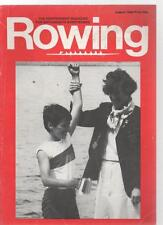 ROWING MAGAZINE - August 1984