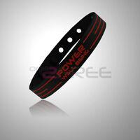 Power Ionics Titanium 2000Ions Sports Energy Wristband Bracelet 6 Colors U Pick