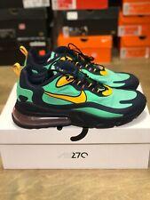 Men's Nike Air Max 270 React Running Shoes Green Black Sz 10 AO4971 300