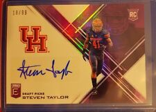 2017 Elite Draft Picks Steven Taylor Autograph card #'d 18/99 Houston Cougars
