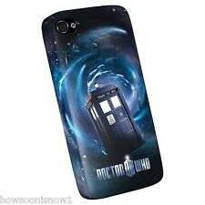 Doctor Who TARDIS Space Vortex iPhone 4 Snap Case LEGAL & LICENSED - US Seller