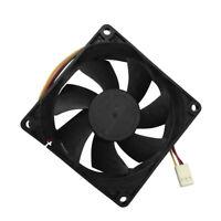 Quiet Oil Bearing Fan 8cm/80mm 12V 3-Pin Computer/PC/CPU Silent Cooling Case Fan