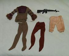 vintage Mego pota PLANET OF THE APES CLOTHES & WEAPON LOT #10 Cornelius Soldier