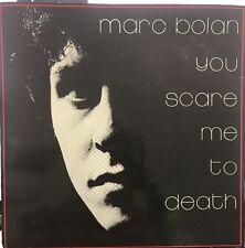 "Marc Bolan You Scare Me To Death 7"" Vinyl Vgc"