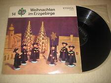 Weihnachten im Erzgebirge - Lieder der Völker 14  Vinyl  LP Eterna