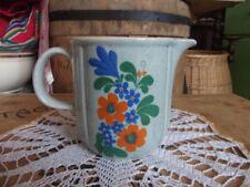 Keramik-Krüge, - Kannen & -Flaschen-Blüten-Label