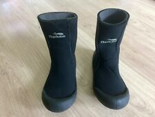 Wetsuit Boots - Typhoon Wet Boots with Rubber Soles, Size 38/39