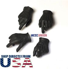 1/6 Batman Joker Gloved Hands BLACK For Hot Toys DX11 DX01 Male Figure U.S.A.