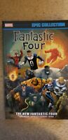 Marvel Fantastic Four Epic Collection Vol 21 The New Fantastic Four TPB OOP RARE