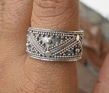 925 Solid Silver-Balinese Handcrafted Ring Cute Size 7-95H