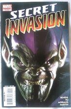 Secret Invasion #5 (Oct 2008, Marvel) part 5 of 8 issues. Skrulls Fantastic Four