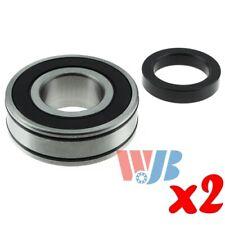 2 x Rear Wheel Bearing with Lock Collar WJB WBRW607NR Interchange RW-607-NR RW60