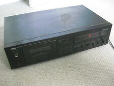 More details for yamaha kx-250 natural sound stereo cassette deck