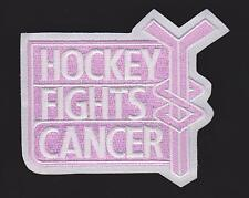 NHL Hockey Fights Cancer October Awareness Game Jersey Patch Pink Patch