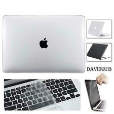 Crystal Glossy Case + keyboard Cover + Screen Protector For MacBook 11/13/15""
