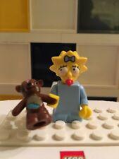 LEGO THE SIMPSONS SERIES 1 MAGGIE TEDDY BEAR BOBO GENUINE MINIFIGURE #71005 B21