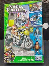 Mega Bloks Teenage Mutant Ninja Turtles Bebop Moto Attack  DPW11 NEW