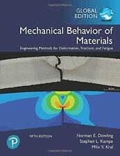 NEW 3 Days US Mechanical Behavior of Materials 5E Norman E. Dowling 5th Edition