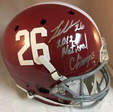 Landon Collins Signed ALABAMA Full Size Helmet w 2012 National Champs Ins PROOF