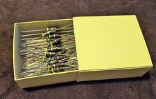 LOT OF 10 Pcs 4.7M OHM 1W Insulated Composition Resistors Vintage Power Resistor