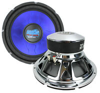 "2) New PYLE PL1290BL 12"" 2400 WATT Car Subs/Subwoofers Power Woofers DVC 4 Ohm"