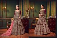 INDIAN ANARKALI DESIGNER SALWAR KAMEEZ SUITS BOLLYWOOD PAKISTANI DRESS _1