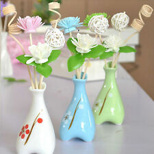 Aromatherapy Colored Enamel Ceramic Fragrance Scented Oil Reed Diffuser -6Scent