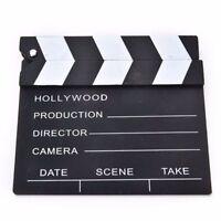 Video Prop Clapper Scene Film Cut Movie Board Clapperboard