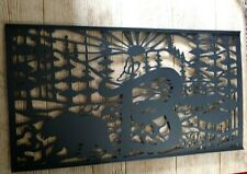 Metal art entrance Gate insert, Home décor large outdoor exterior art handmade