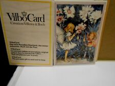Villeroy Boch VILBO Card CARNATION CHILD C.M. Barker Porcelain Art WEST GERMANY