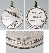 Medaille Aeritalia Dornier Torino 18-3-1972 / Silber 800