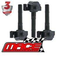 SET OF 3 MACE STANDARD IGNITION COILS TOYOTA CAMRY MCV20R MCV36R 1MZFE 3.0L V6