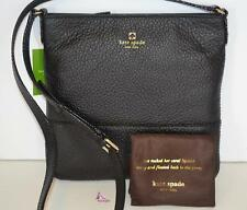 Kate Spade Purse Crossbody Messenger Handbag Black Leather Southport Ave Cora
