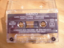 MEGA RARE robert Sarzo DEMO CASSETTE TAPE After the Storm 91 METAL Hurricane DIO