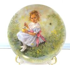 """""""LITTLE MISS MUFFET""""  COLLECTOR PLATE - MOTHER GOOSE COLLECTION"""