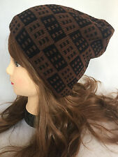 Women Men Winter Warm Knit Beanie Oversized Thick Slouchy Hat Ski Cap Unisex