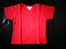 tee-shirt rouge 5 ans manches courtes ORCHESTRA - comme NEUF - juste lavé
