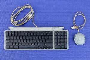 APPLE M2452 KEYBOARD and APPLE M4848 MOUSE,  BLUE, WIRED