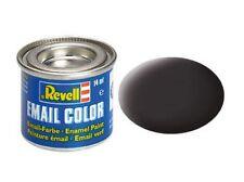 REVELL 32106 - (14,21 €/100ml) colore e-mail-Catrame Nero Opaco - 14ml